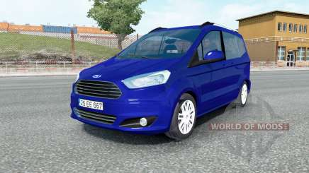 Ford Tourneo Courier 2014 для Euro Truck Simulator 2