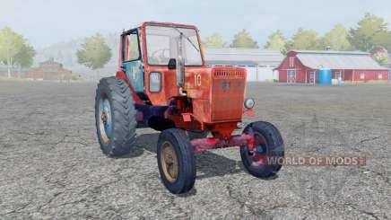 МТЗ-80Л Беларус ярко-оранжевый окрас для Farming Simulator 2013