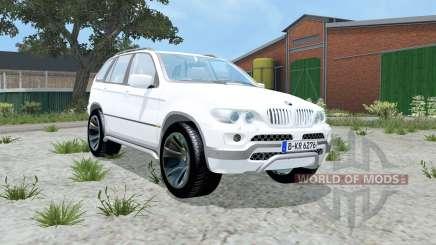 BMW X5 4.8is (E53) 2004 для Farming Simulator 2015