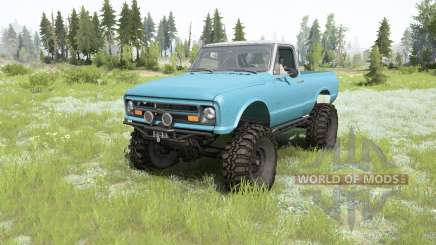 Chevrolet K10 1967 для MudRunner