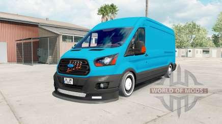 Ford Transit Jumbo Van для American Truck Simulator