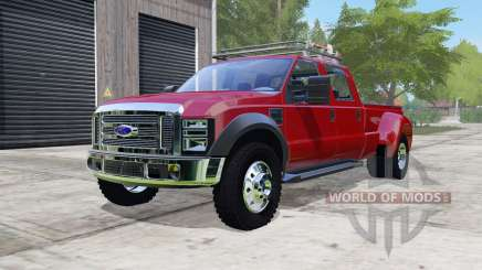Ford F-450 Super Duty Platinum Crew Cab 2010 для Farming Simulator 2017