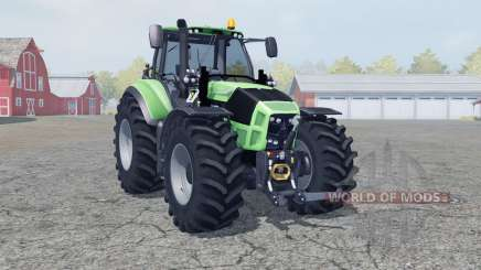 Deutz-Fahr 7250 TTV Agrotron manual ignition для Farming Simulator 2013