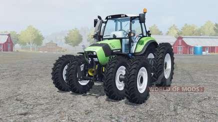 Deutz-Fahr Agrotron TTV 430 caᶉe wheels для Farming Simulator 2013