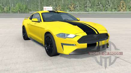 Ford Mustang EcoBoost Performance 2018 для BeamNG Drive