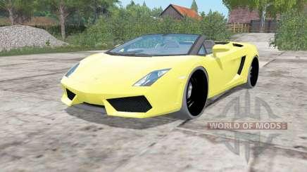 Lamborghini Gallardo LP 560-4 Spyder 2012 для Farming Simulator 2017
