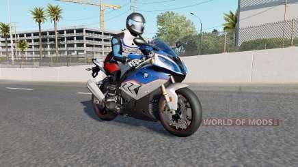 Motorcycle Traffic Pack v3.0.1 для American Truck Simulator