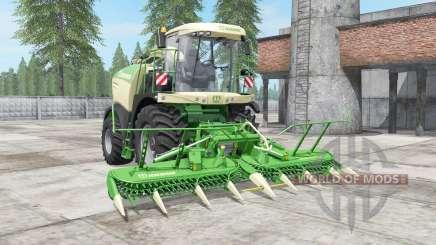 Krone BiG X 580 mit bunker для Farming Simulator 2017