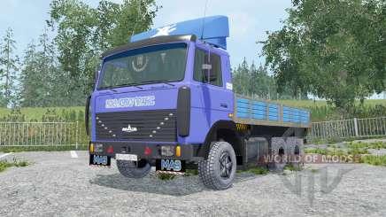 МАЗ-6303 съёмные модули для Farming Simulator 2015