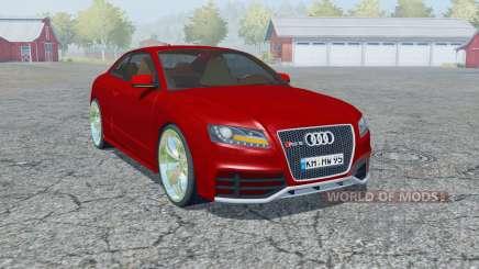 Audi RS 5 coupe 2010 для Farming Simulator 2013