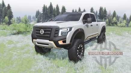 Nissan Titan Warrior concept 2016 для Spin Tires