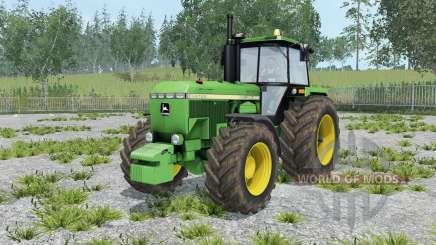 John Deere 4755 pantone green для Farming Simulator 2015