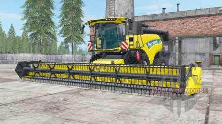 New Holland CR9.90 safety yellow для Farming Simulator 2017