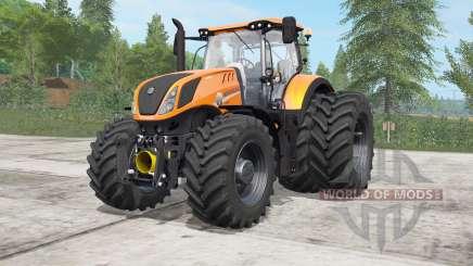 New Holland T7.315 Gamling Edition для Farming Simulator 2017