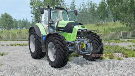 Deutz-Fahr 7210 TTV Agrotron street version для Farming Simulator 2015
