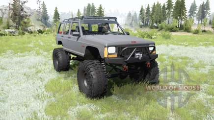 Jeep Cherokee (XJ) 1987 crawler для MudRunner