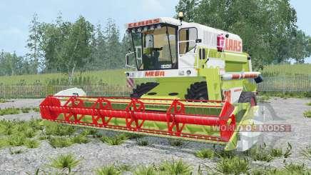 Claas Dominator 218 Mega для Farming Simulator 2015