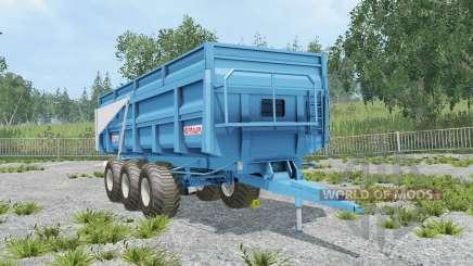 Maupu TDM picton blue для Farming Simulator 2015
