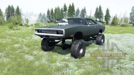 Dodge Charger 1970 для MudRunner