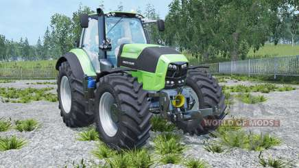 Deutz-Fahr 7250 TTV Agrotron real engine для Farming Simulator 2015