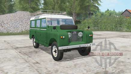 Land Rover 109 Station Wagon 1965 для Farming Simulator 2017