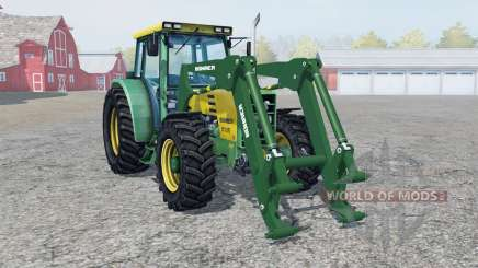 Buhrer 6135 A front loadeᶉ для Farming Simulator 2013