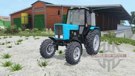 МТЗ-82.1 Беларус голубой оқрас для Farming Simulator 2015