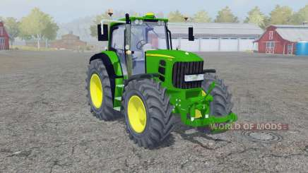 John Deere 7530 Premium wheel weights для Farming Simulator 2013