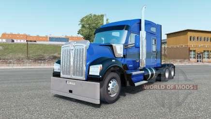 Kenworth W990 Mid-Roof Aerodyne Sleeper для Euro Truck Simulator 2