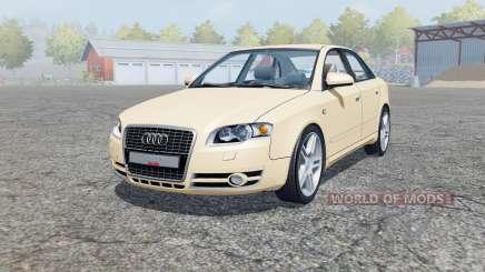 Audi A4 3.0 TDI quattro (B7) 2004 для Farming Simulator 2013