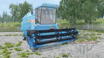 Bizon Rekord Z058 blue jeans для Farming Simulator 2015