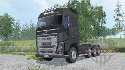 Volvo FH16 750 Globetrotter cab для Farming Simulator 2015