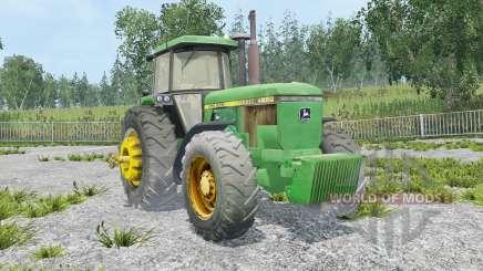 John Deere 4650 extra weights для Farming Simulator 2015