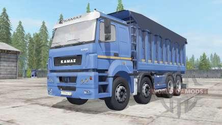 КамАЗ-65201 с прицеԥом для Farming Simulator 2017