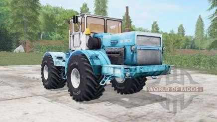 Кировец К-700А мягко-голубой окрас для Farming Simulator 2017
