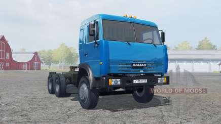 КамАЗ-54115 синий окрас для Farming Simulator 2013