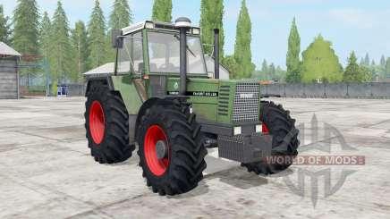 Fendt Favorit 611-615 LSA Turbomatik E для Farming Simulator 2017