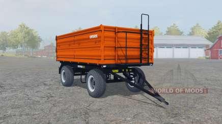 Ursus T-670-A1 vivid orange для Farming Simulator 2013