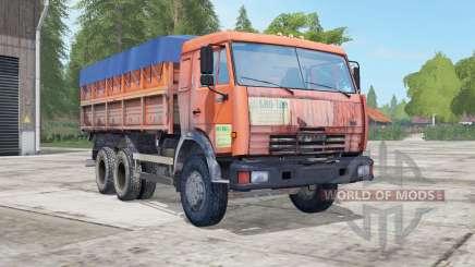 КамАЗ-45143 и НефАЗ-8560 для Farming Simulator 2017