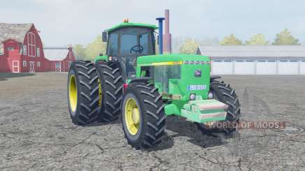 John Deere 4955 medium spring green для Farming Simulator 2013