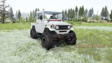 Toyota Land Cruiser Short Bed (FJ45) для MudRunner