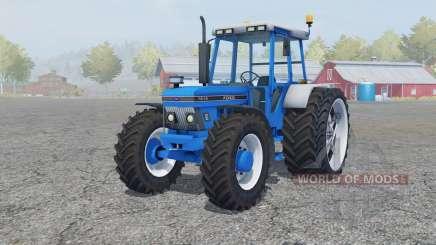 Ford 7810 added wheels для Farming Simulator 2013