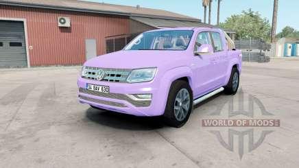 Volkswagen Amarok Double Cab Highline 2016 mauve для American Truck Simulator