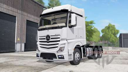 Mercedes-Benz Actros (MP4) wheel color selection для Farming Simulator 2017