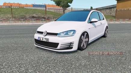Volkswagen Golf R-Line (Typ 5G) 2013 для Euro Truck Simulator 2