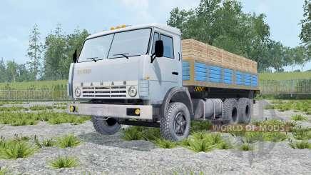КамАЗ-55102 с прицепом для Farming Simulator 2015
