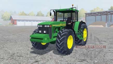 John Deere 8410 north texas green для Farming Simulator 2013