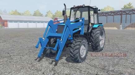 МТЗ-1221 Беларус фҏонтальный погрузчик для Farming Simulator 2013