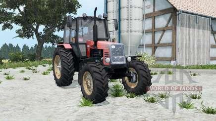 МТЗ-1221 Беларус мягко-красный окрас для Farming Simulator 2015