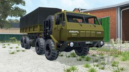 КрАЗ-7Э-6316 8x8 Сибирь для Farming Simulator 2015